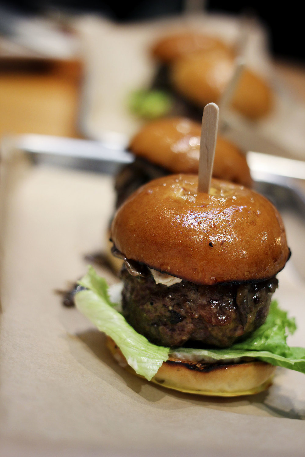 Black Truffle Sliders