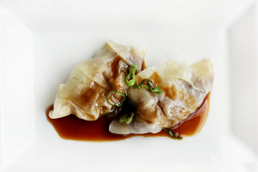 Short Rib Gyozas - Very tender, flavorful and decadent.
