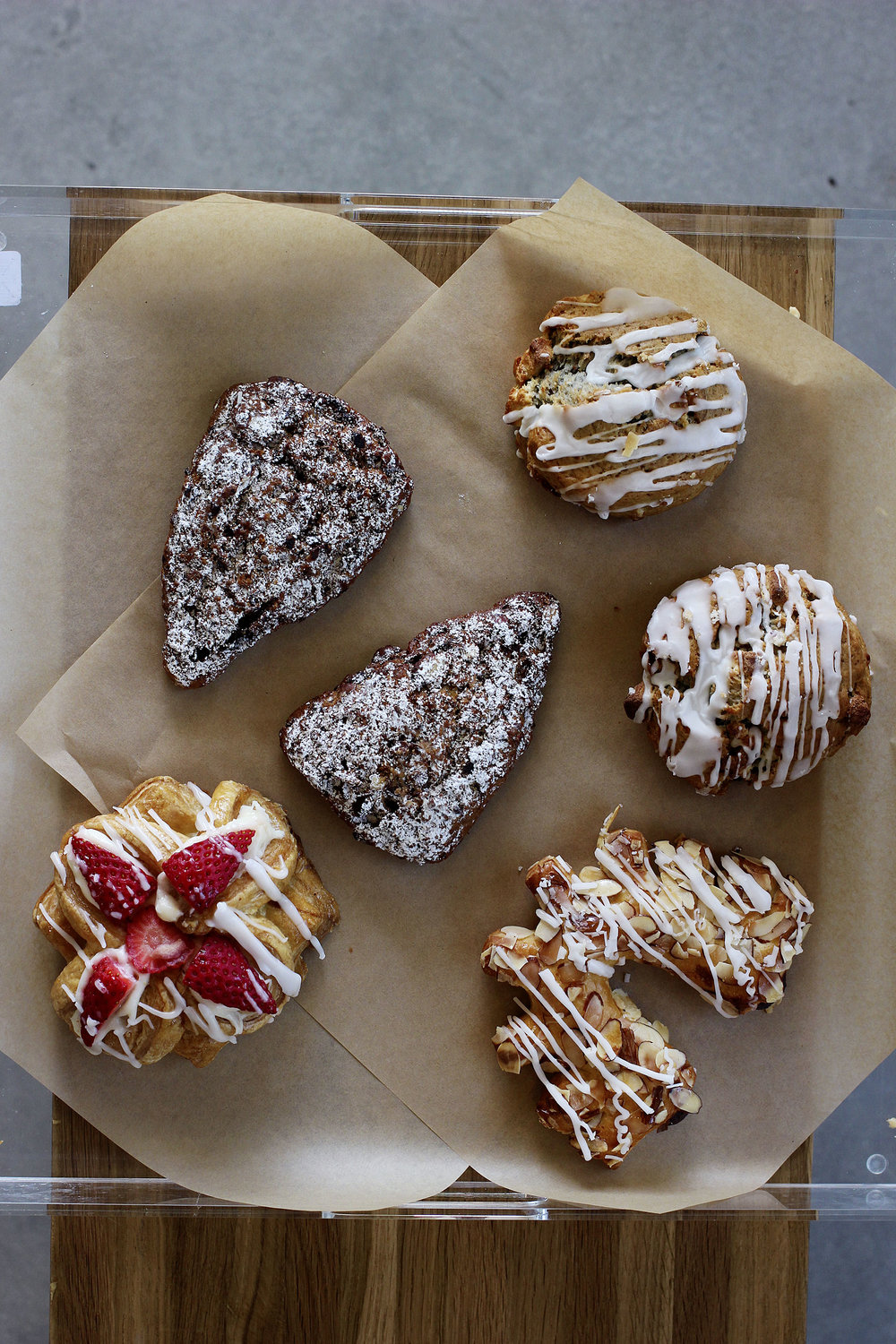 Delicious baked goods by Rockenwagner Bakery