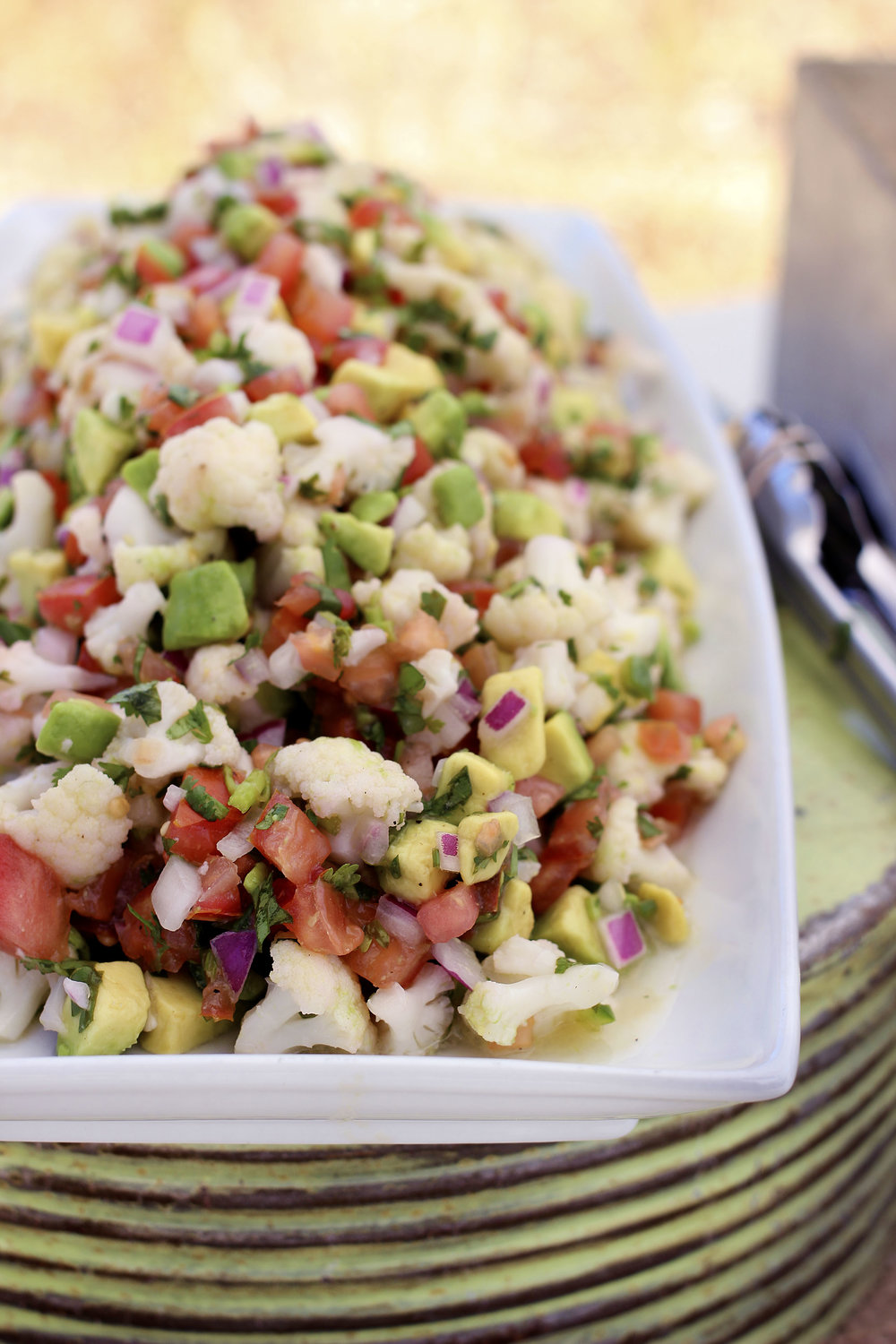 Vegan Cauliflower Ceviche