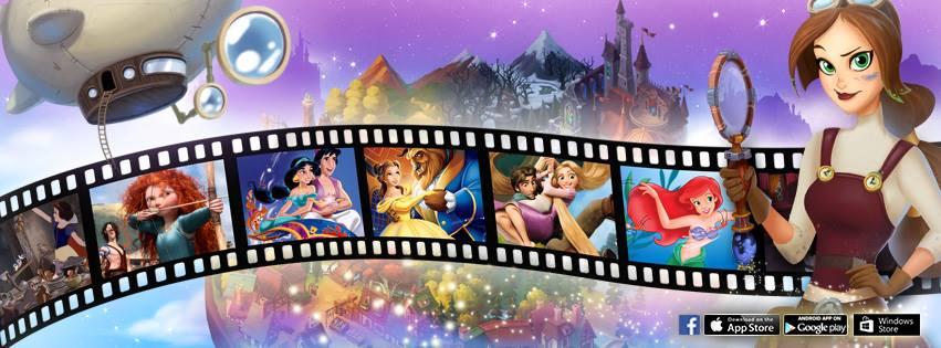 Disney Hidden Worlds - Facebook, iOS, Android