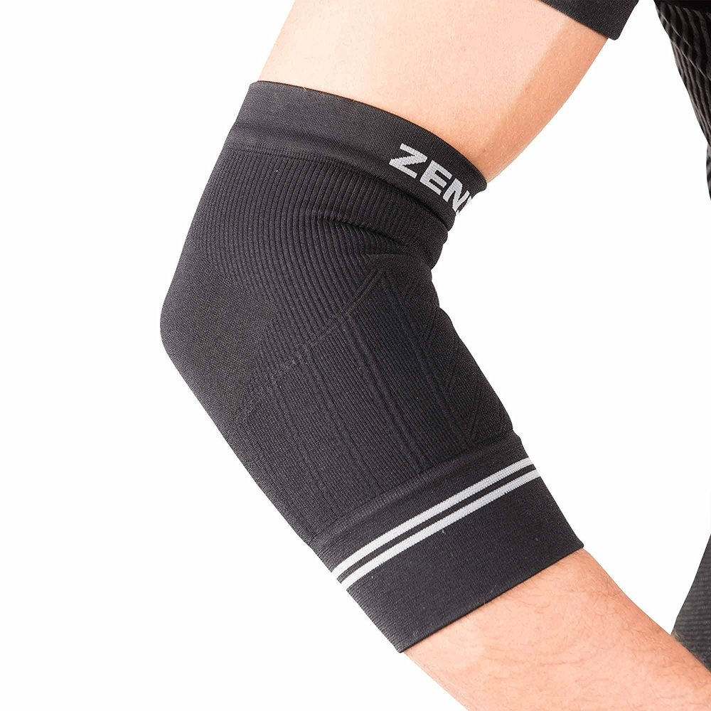Compression for Elbow Tendonitis - If you'd prefer a less bulky brace for your elbow pain, we recommend this brace to use when doing activities that increase your symptoms. We've had a few clients swear by using these for their continuous typing/desk work.