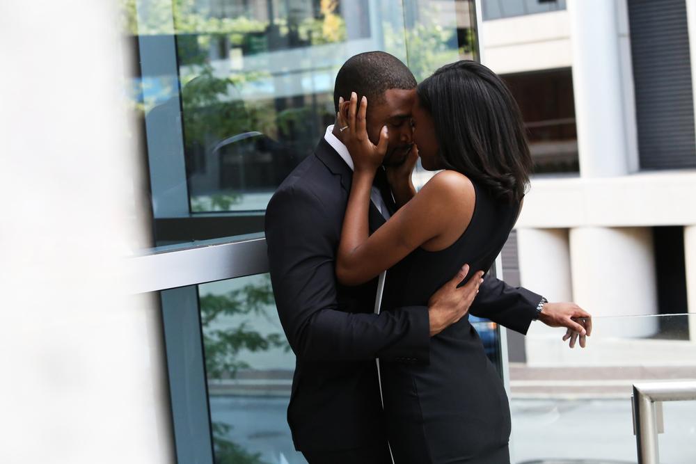 Joshua & Courtney | Downtown Cincinnati | Cleveland Wedding Photography 1
