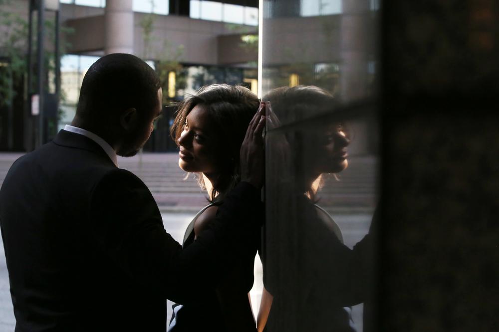 Joshua & Courtney | Downtown Cincinnati | Cleveland Wedding Photography