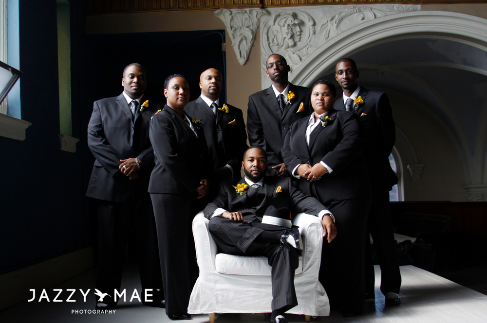 Cleveland Wedding Photography | Jehoshaphat Arts Hall | JMP 7
