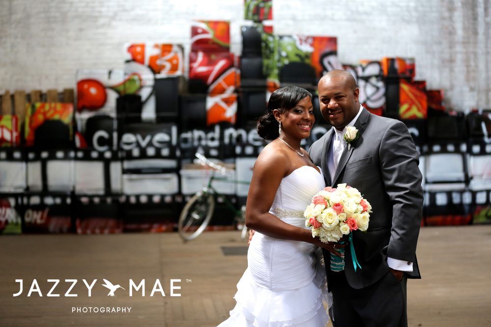 5 Areial and Marcus | The Ariel International Center | Cleveland Wedding Photography