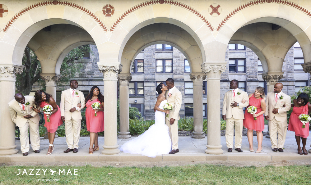 Lisa & Toweh Kpor | Fairchild Chapel in Oberlin | Cleveland Wedding Photography 20