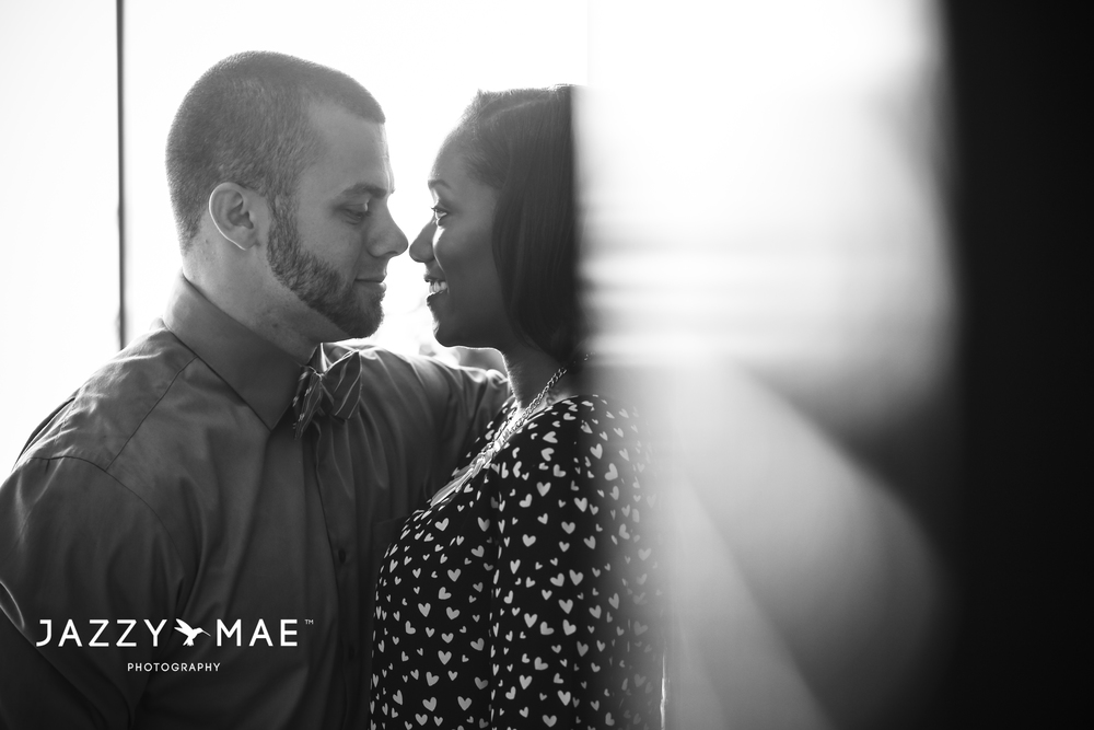 JOHNNY & BRYAUNE | Burke Airport | Cleveland Wedding Photography 6