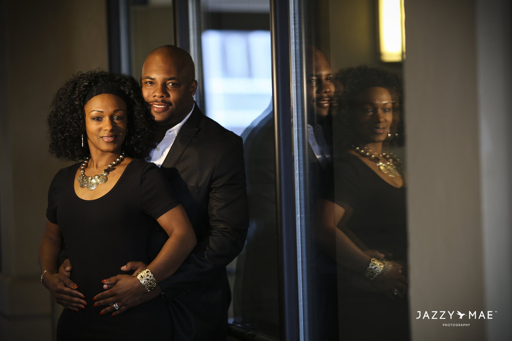 Congratulations to my big brother Daron Djlokey Henderson and his bride on their anniversary. A sneak peak from Thursday's shoot, Legacy Village, Beachwood, Ohio