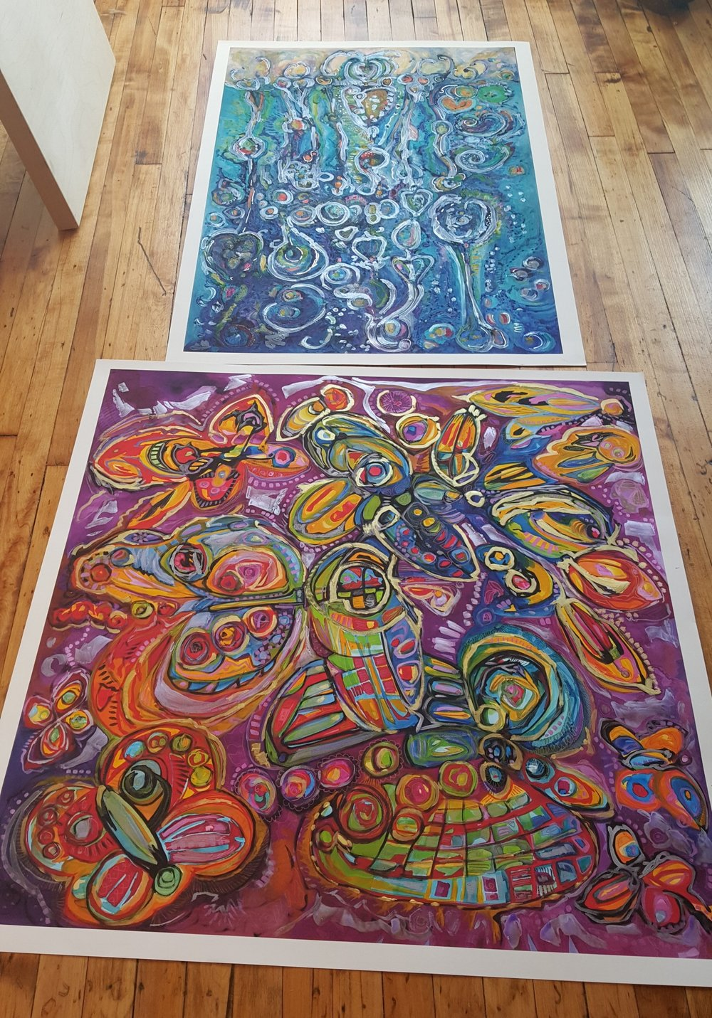 Hot off the Press, Giclée prints