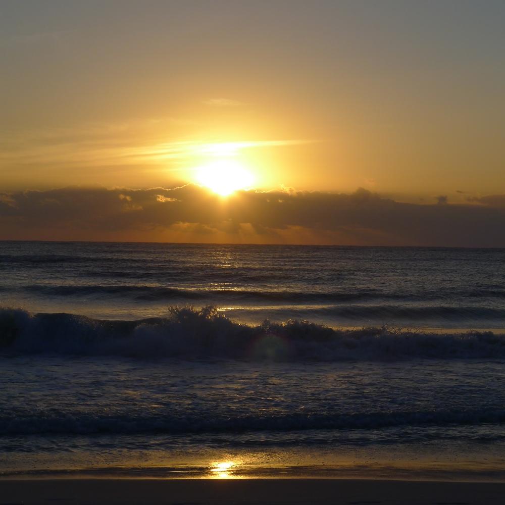 Sunrise at  C oco Tulum / Tulum / Photography by Amy Flyntz