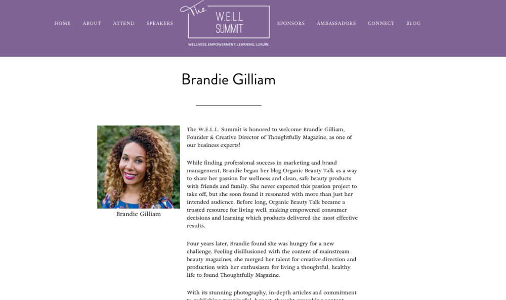 Editorial Bio