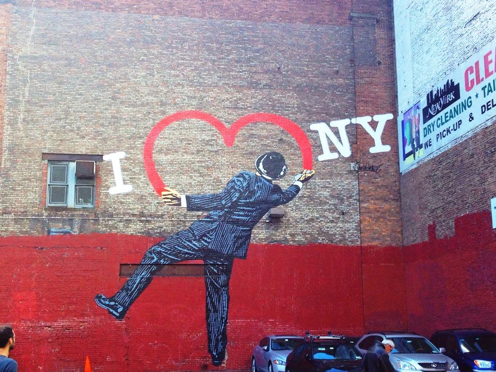 I love New York. Chelsea. By Amy Flyntz.