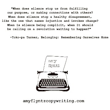 """...When is silence being complicit, when it should be calling on a revolution waiting to happen?"" #meaningfulmonday #tokopaturner #wordsofwisdom"
