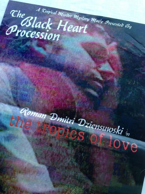 The Black Heart Procession tropics poster