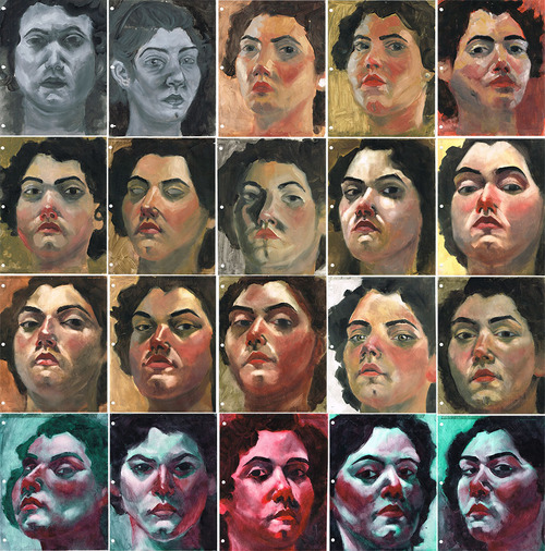 oils-selfportraits