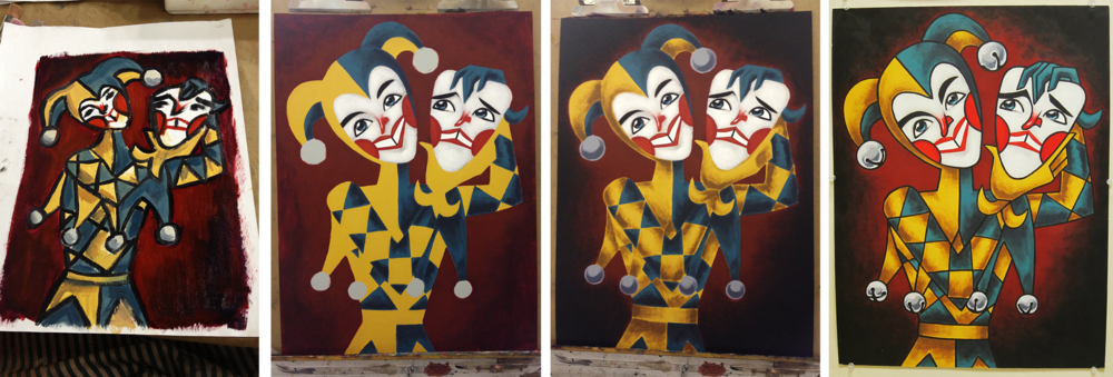 fool-painting-process