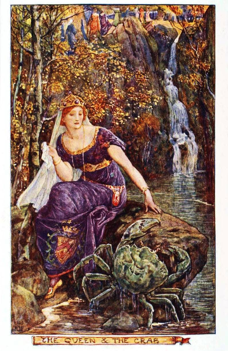 Juvenile-Book-illustration-Fairy-Tale-The-Queen-and-the-Crab-1906.jpg