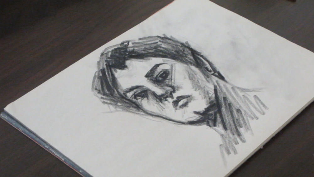 Drawing A Self Portrait From Life Simple Art Tips