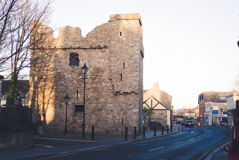 Dalkey Castle - one of seven fortified town houses/castles in Dalkey. These castles were erected in the Middle Ages to store goods being off-loaded in to Dalkey's harbor.