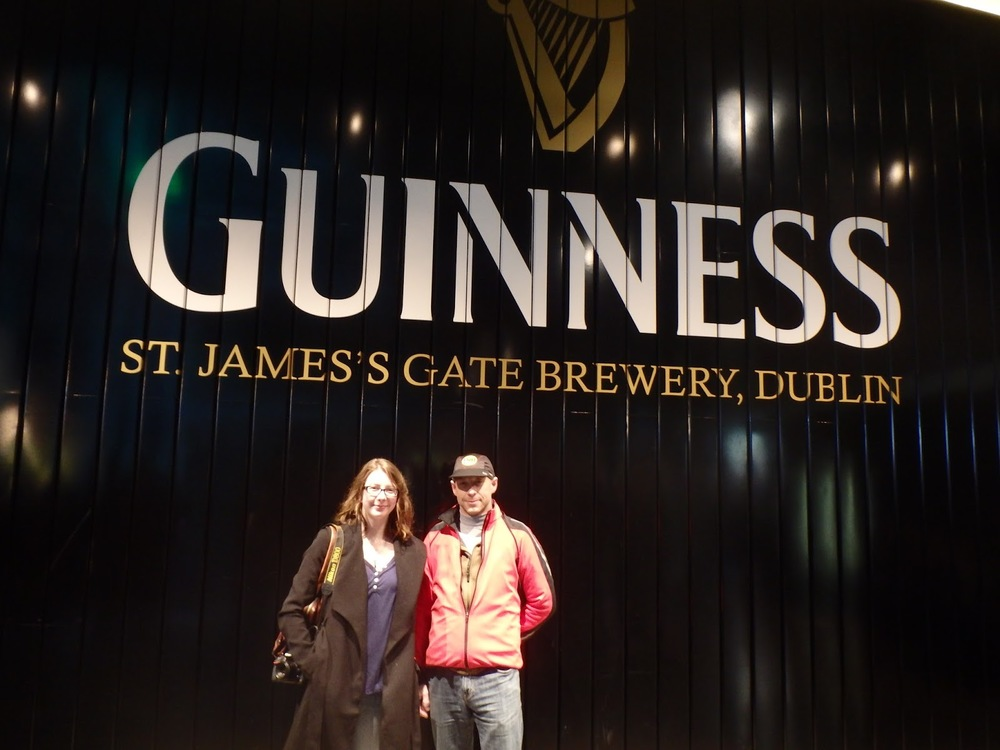 The first floor of the Guinness Storehouse, as taken by a fellow Guinness enthusiast/family man.