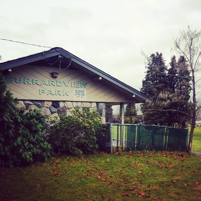 Burrard View Park Fieldhouse Image courtesy of the artist