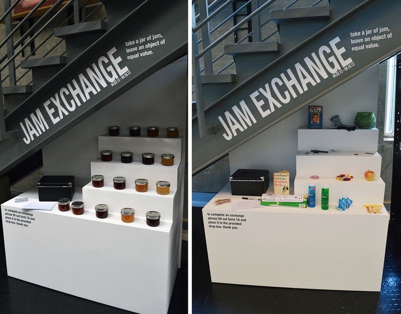 Jam Exchange (2013), Lexie Owen Image courtesy of the artist