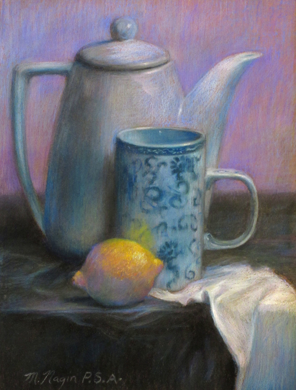 "Tea Things                 12""x9 1/2"""