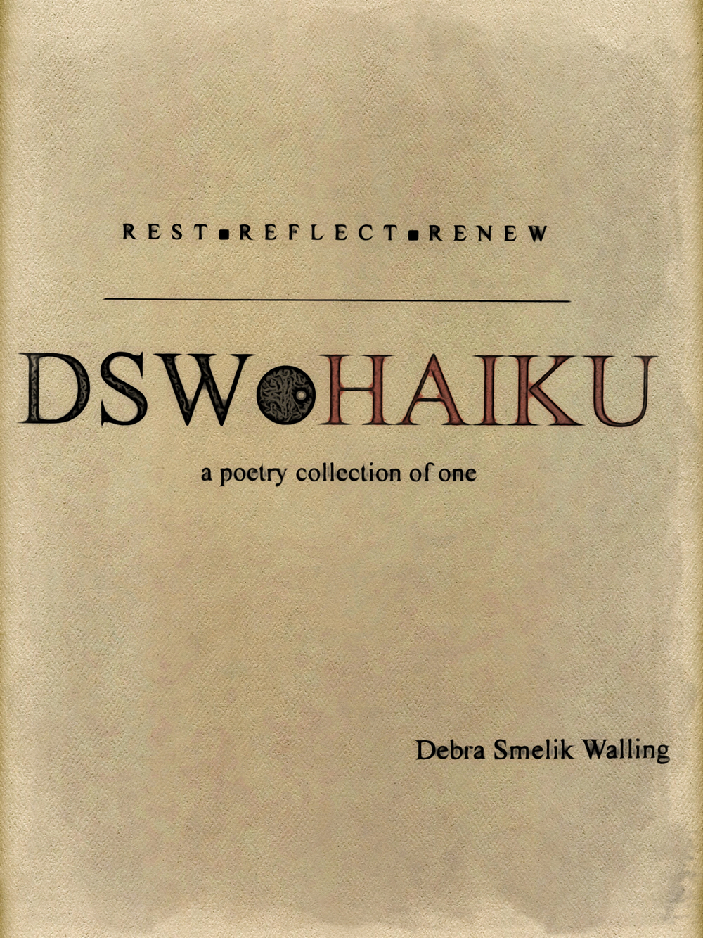 DSW Haiku, Book Cover