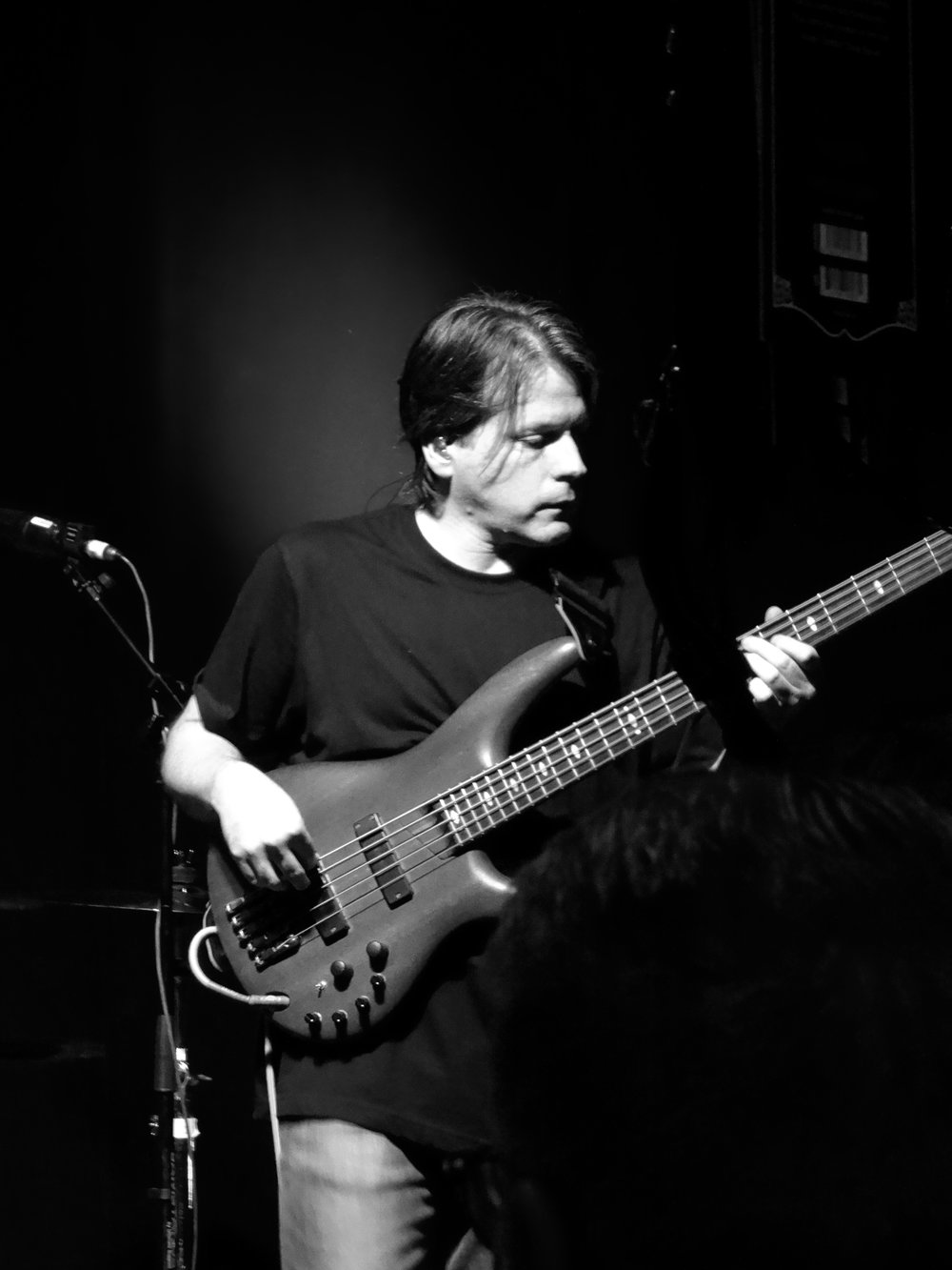 Patrick Bettison bass guitar