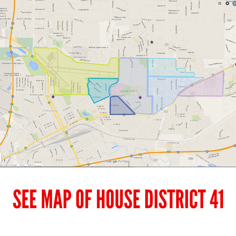 WY House District 41 Map