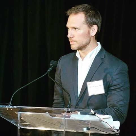 One of our principals, Christian Jordan, AIA, introducing the inaugural @aiapennsylvania Firms Fostering Emerging Professionals recognition at the annual Awards Gala @academy_of_fine_arts_ in #philadelphia. The recognition was an idea he developed as part of @aiayaf and continues his passion for advocating on behalf of emerging professionals and young #architects in #pennsylvania @aiaphiladelphia @aianational @aiaphlpea #whatanarchitectdoes #architecture