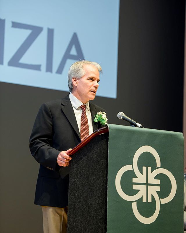 Our fearless founder, Phil [@pfj_photo], addresses the recent program graduates at Gaudenzia's commencement this past June. Phil has served on the board of this relevant + salient program since 1980. He will take the helm as chairman of the board in 2018. [📸:@gaudenziainc] #PJAserves #gaudenzia #qualityoflife #weallhaveastory #weallhaveapurpose