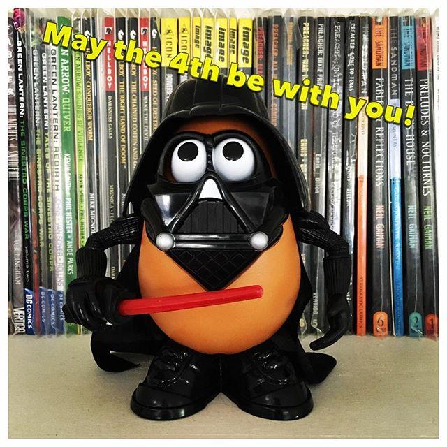 Happy Star Wars day everyone!  #maythe4thbewithyou #starwarsday