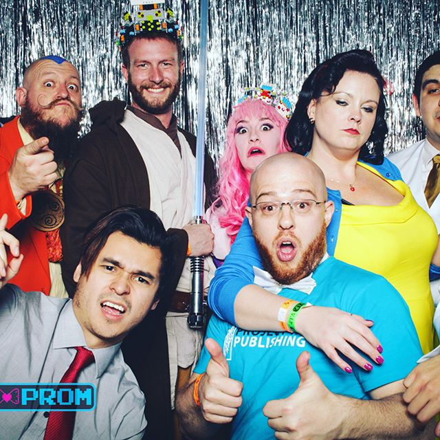 Some of our faves from last year's Nerd Prom photo booth brought to you by @lightbooth! They will be back this year and photos are 100% free! You'll even get your own physical print out of your photo! Don't miss out of this year's Prom June 16th. Tickets fill available! #nerdprom2018 #nerdsjustwannahavefun