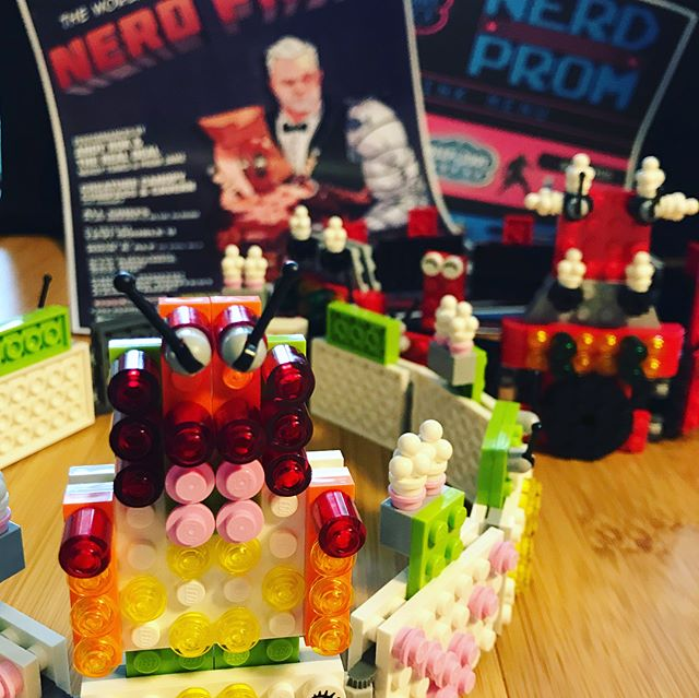 Who will be Lego Crowned tonight at @nerd_prom ? It could be YOU! Be sure to sign-up for the Cosplay Contest by 8:30pm at The Summit Music Hall & you could win amazing prizes from @alamodenver @twistandshoutdenver @level7games @festofal