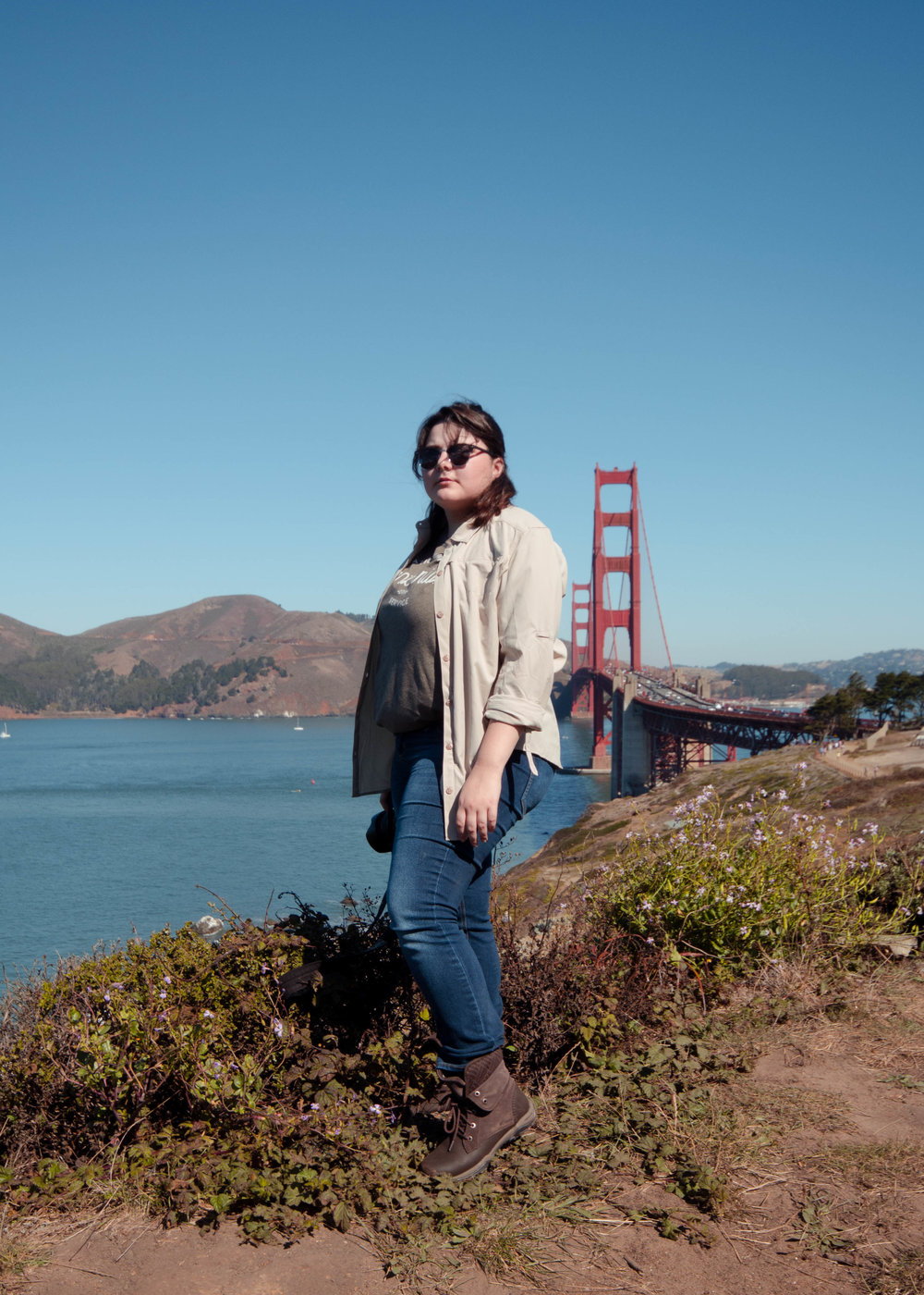 Victoria Ramos at Golden Gate.