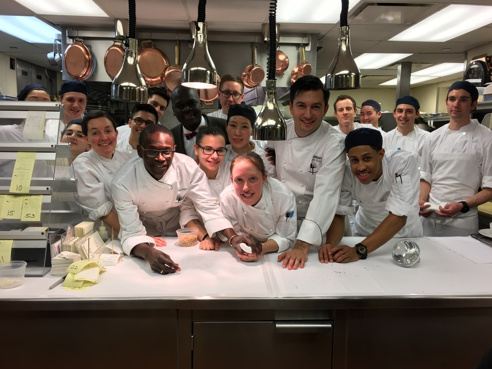Cooking Senegal Dinner at Cafe Boulud