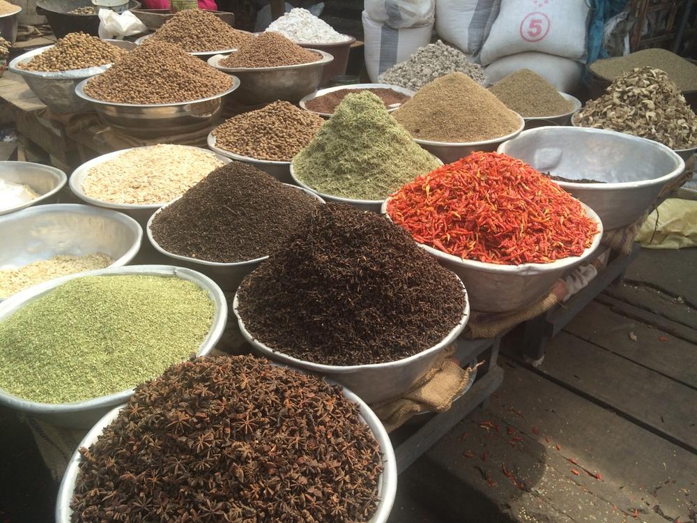 Market in Accra (Ghana)