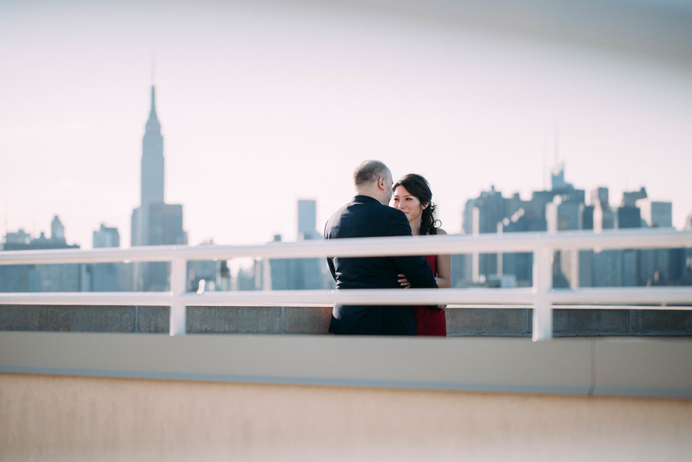 rooftop urban nyc engagement vsco photos