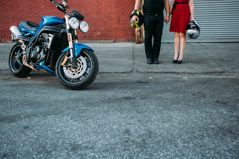 creative urban nyc wedding photography