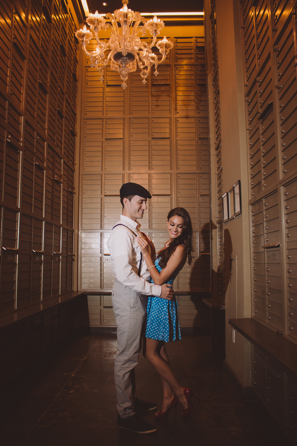 vintage gold room styled shoot