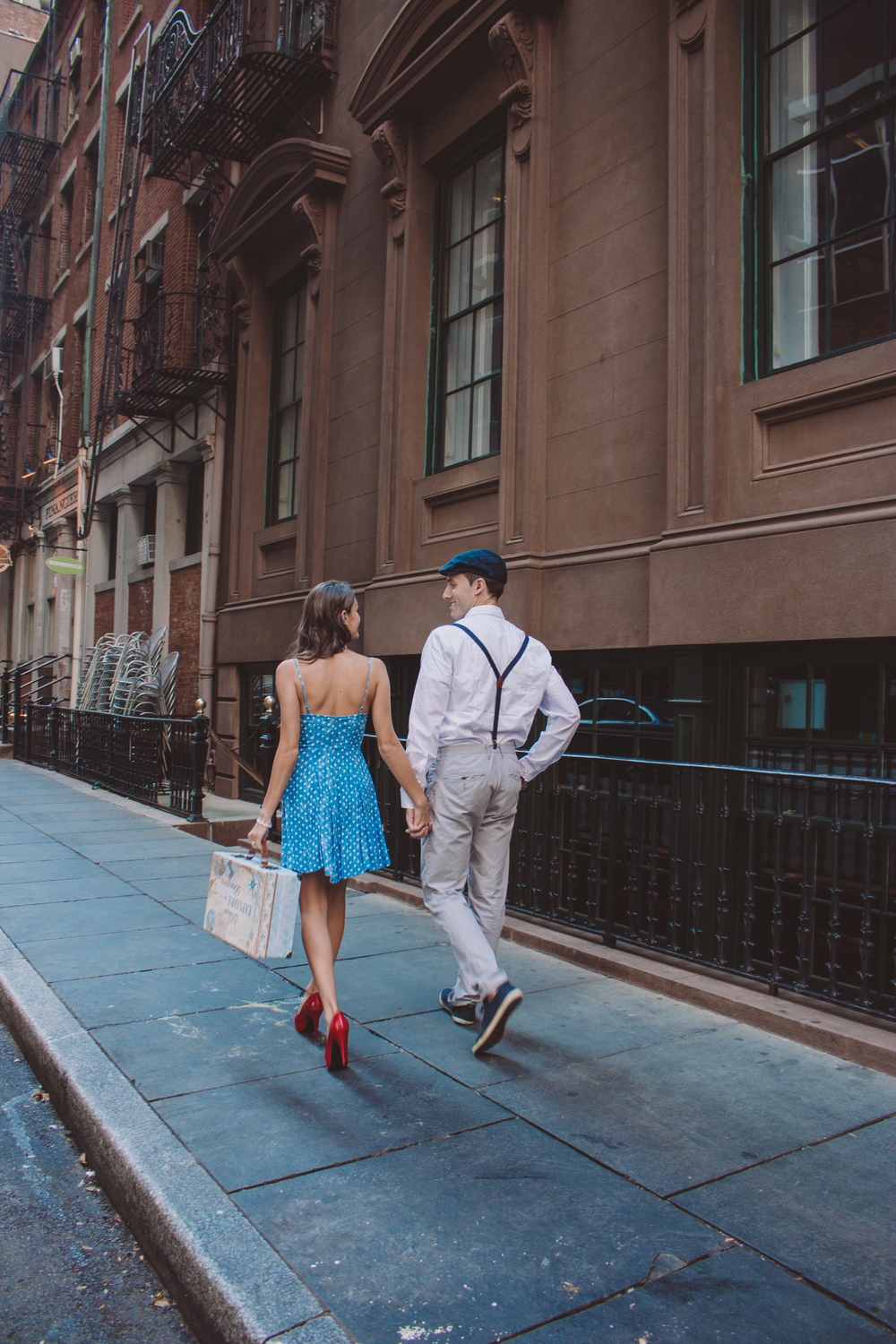 nyc vintage style lifestyle photo session