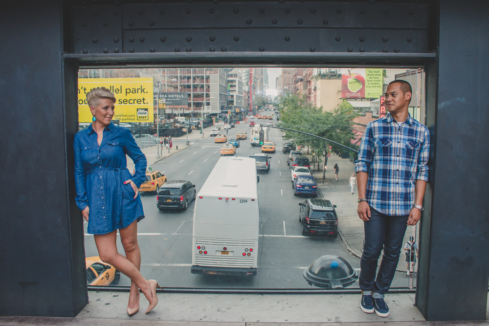 nyc highline park engagement lifestyle session