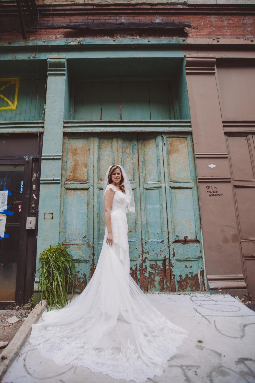 urban bride in nyc