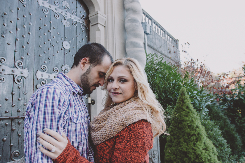 fall colors engagement photography nyc
