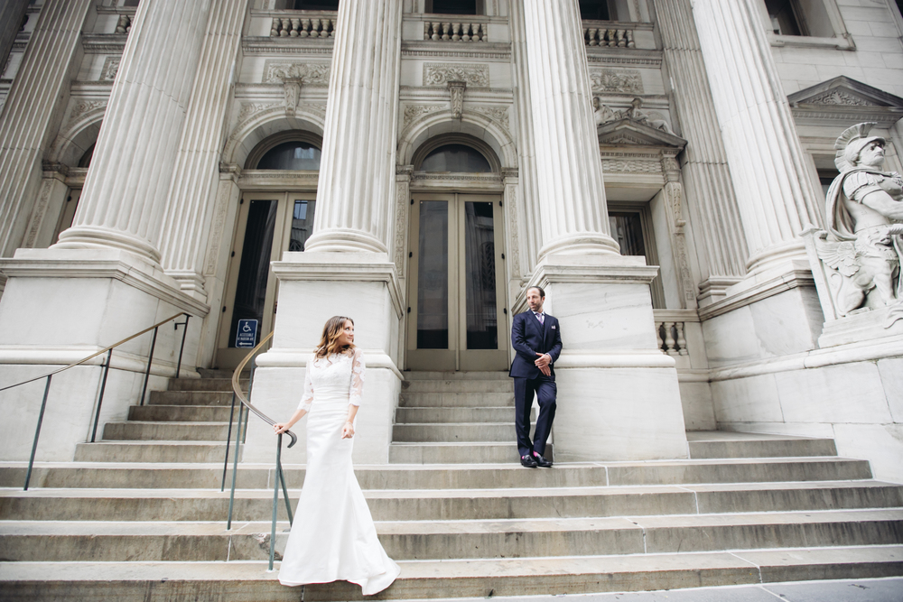 bridal session in midtown ny