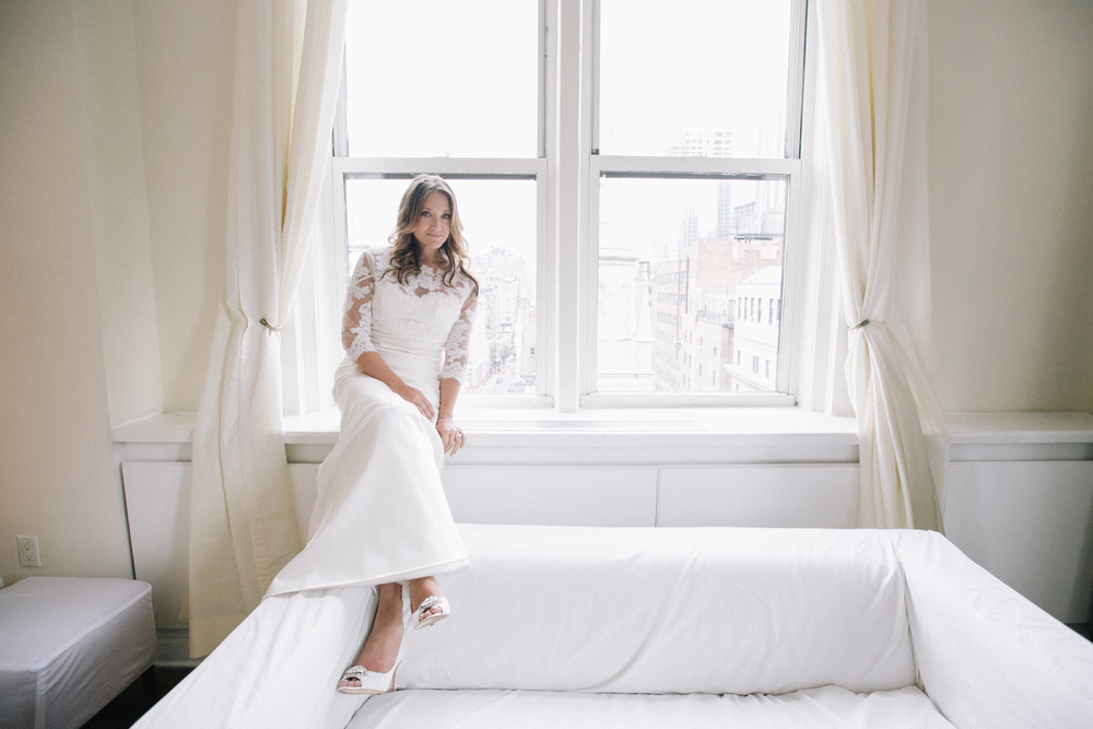 bride at midtown loft