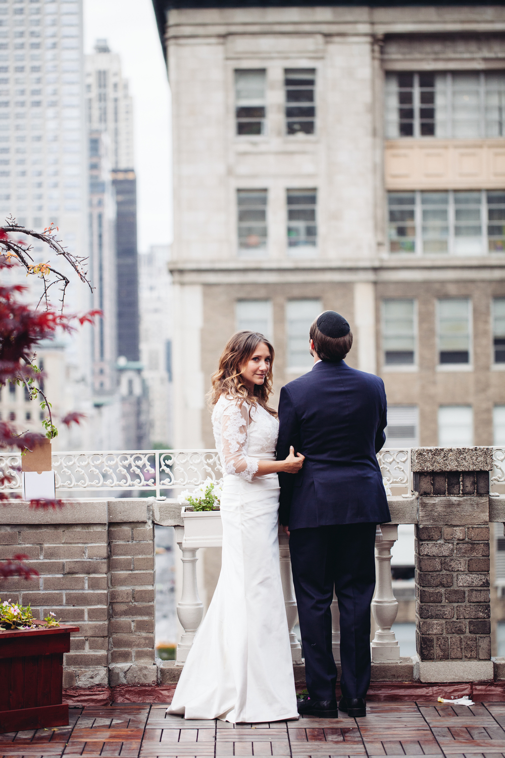 nyc wedding rooftop