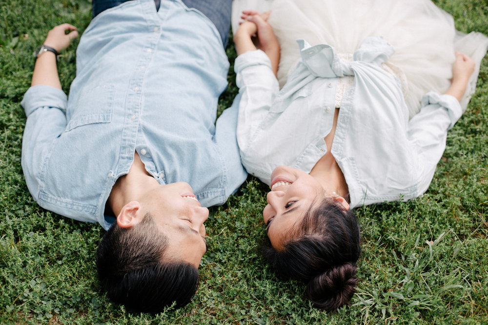 couple photoshoot in central park ny